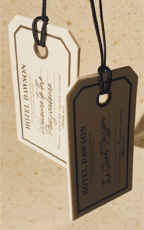 Luggage Tag Paper Kit